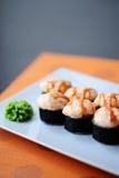 Baked sushi Stock Image