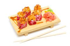 Baked sushi,  japanese food Stock Image