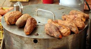 Baked Sweet Potatoes Stock Image