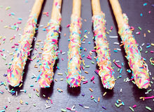 Baked sweet stick Stock Photography