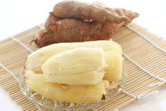 Baked tapioca (Cassava root) Stock Photography