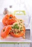 Baked tomato Stock Photo