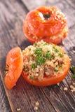 Baked tomato Royalty Free Stock Photos