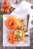 Baked tomato Stock Images