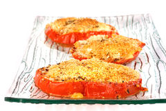 Baked tomatoes Royalty Free Stock Photography