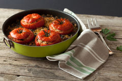 Baked Tomatoes Stock Photos