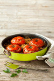 Baked Tomatoes Pan Stock Images
