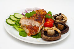 Baked turkey breast Royalty Free Stock Images