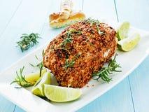 Baked turkey Stock Images