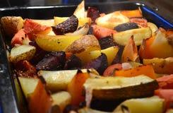 Baked veg Stock Photos