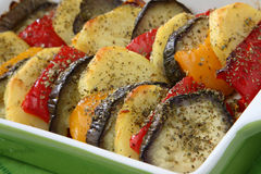 Baked vegetable Royalty Free Stock Photos