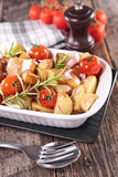 Baked vegetable Royalty Free Stock Image
