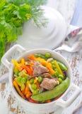 Baked vegetables Stock Photo