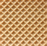 Baked wafer structure Royalty Free Stock Photos