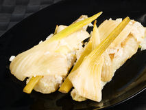 Baked whitefish with fennel Royalty Free Stock Image