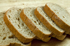 Baked whole grain bread Royalty Free Stock Image