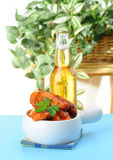 Baked Wings Stock Image