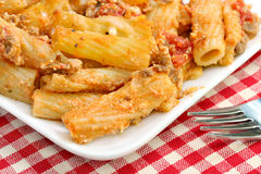 Baked Ziti Royalty Free Stock Photo
