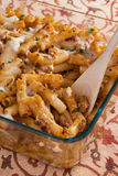 Baked Ziti Casserole Stock Photos