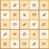 Bakegoods bakgrund Royaltyfri Bild