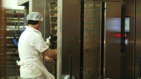 Bakehouse stock video