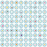 100 bakehouse icons set, isometric 3d style. 100 bakehouse icons set in isometric 3d style for any design vector illustration royalty free illustration