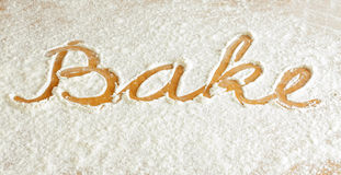 Bakeing Royalty Free Stock Photo