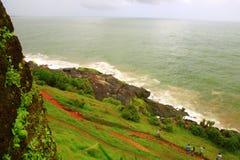 Bakel fort, Kerala,India. The sea view from Bakel fort, Kerala Stock Images