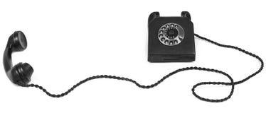 bakelite μακρύ τηλέφωνο καλωδίων Στοκ Εικόνες