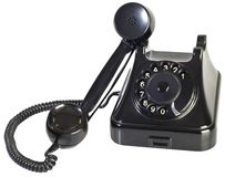 Bakelite Phone Cutout Royalty Free Stock Image