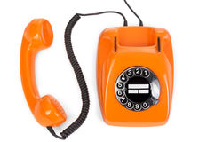 Bakelite rotary phone Royalty Free Stock Image