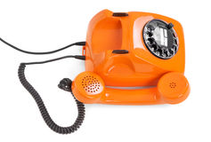Bakelite rotary phone Stock Images