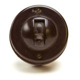 Bakelite Switch Royalty Free Stock Photos