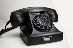Bakelite telephone 1951 Royalty Free Stock Images