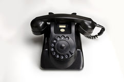 Bakelite telephone 1955 Stock Image