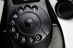Bakelite telephone 1955 Stock Photo