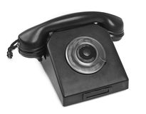 Bakelite telephone with spining dial Royalty Free Stock Photo