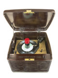 Bakelite Tube Record Player Stock Photos