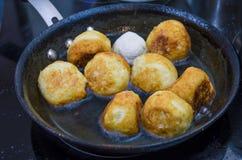 Bakelse mat som är söt, munk, bulle, förberedelse Royaltyfri Foto