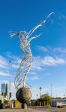 Baken van Hoopbeeldhouwwerk in Belfast, Noord-Ierland royalty-vrije stock foto's