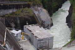 Baker湖发电厂 库存图片