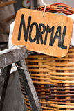 Baker basket. Royalty Free Stock Photo