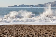 Baker Beach Royalty Free Stock Image