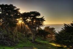 Baker Beach Etats-Unis images stock
