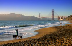 Baker Beach, San Francisco Stock Images