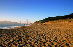 Baker Beach, San Francisco photographie stock libre de droits