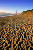 Baker Beach, San Francisco stock photography