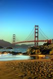 Baker Beach, San Francisco royalty free stock photography