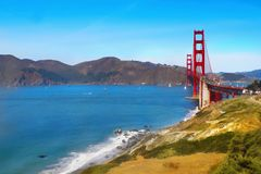 Baker Beach San Francisco, California Royalty Free Stock Images