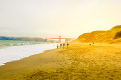 Baker Beach San Francisco Royalty Free Stock Photo